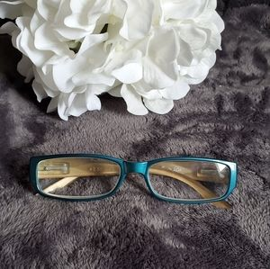 JM 2.50 Teal Reading Glasses